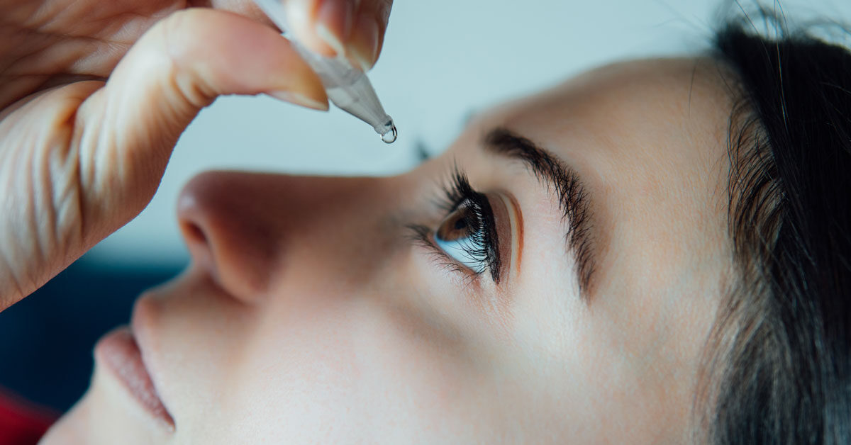 Generic eye care drugs used for an eye infection