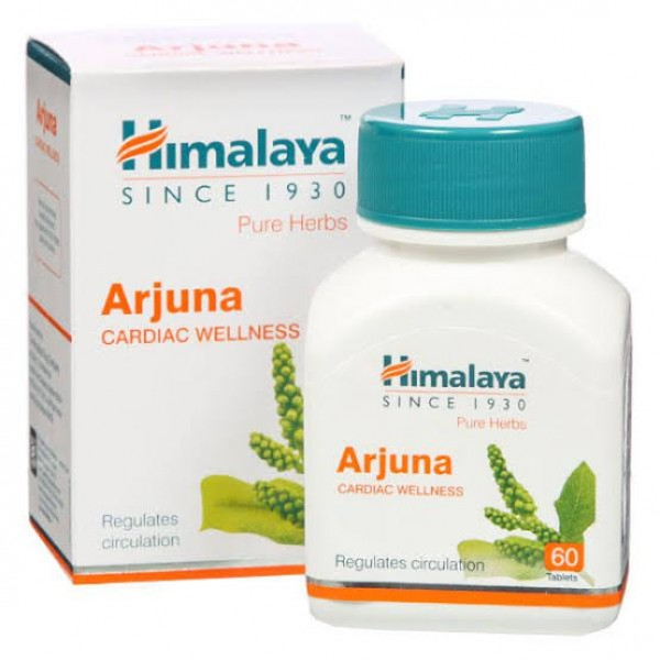 Himalaya Pure Herbs Arjuna Cardiac Wellness Tablet