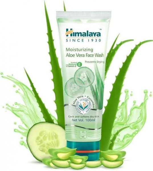 Himalaya Moisturizing Aloe Vera Face Wash 100 ml