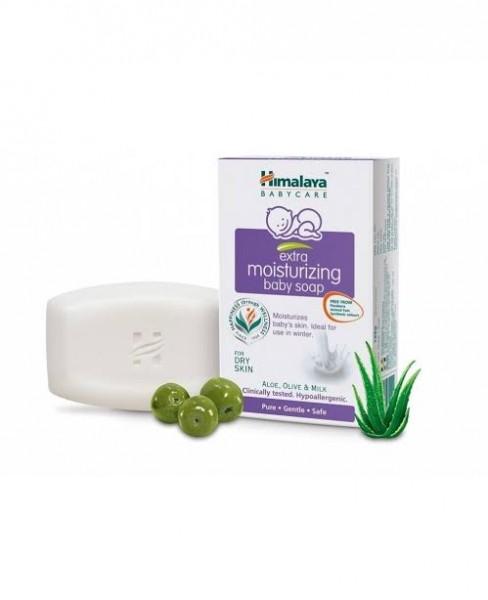 Himalaya Extra Moisturizing Baby Soap 75 gm