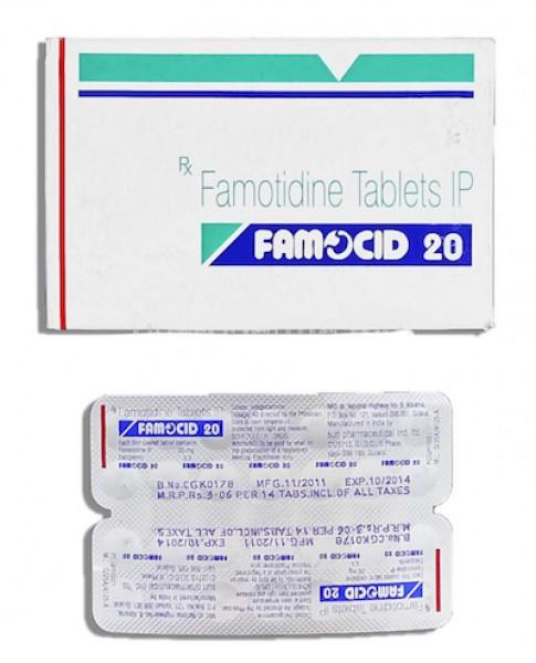 Pepcid 20 mg Generic Tablet