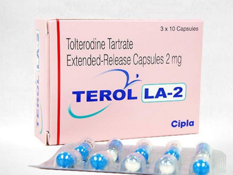 Detrol LA 2mg Generic capsules