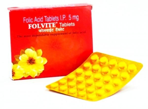 Folic Acid 5mg Generic Tablet