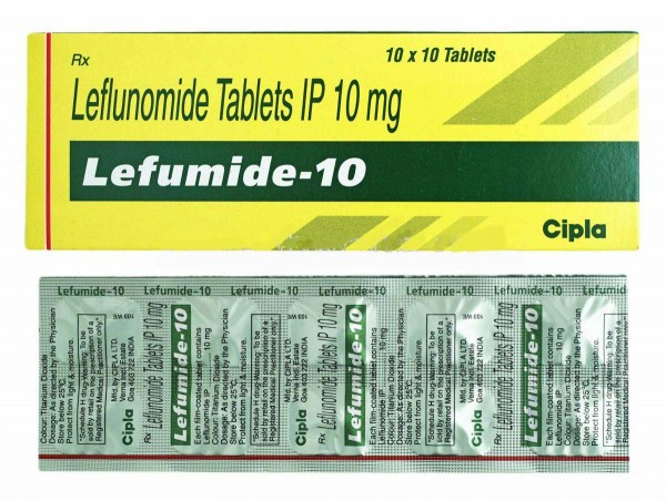 Arava 10mg Generic tablets