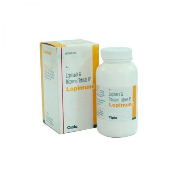Kaletra 200 mg / 50 mg Generic tablets