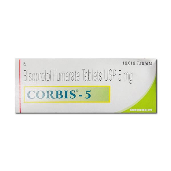 Zebeta 5mg Generic tablets
