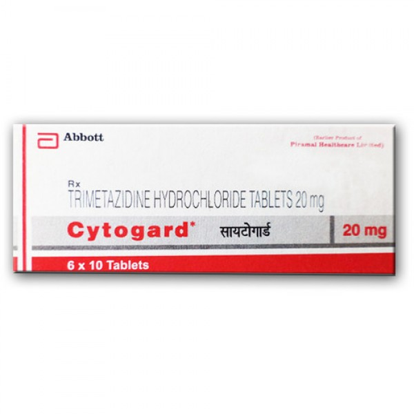 Trimetazidine 20 mg Generic Tablet