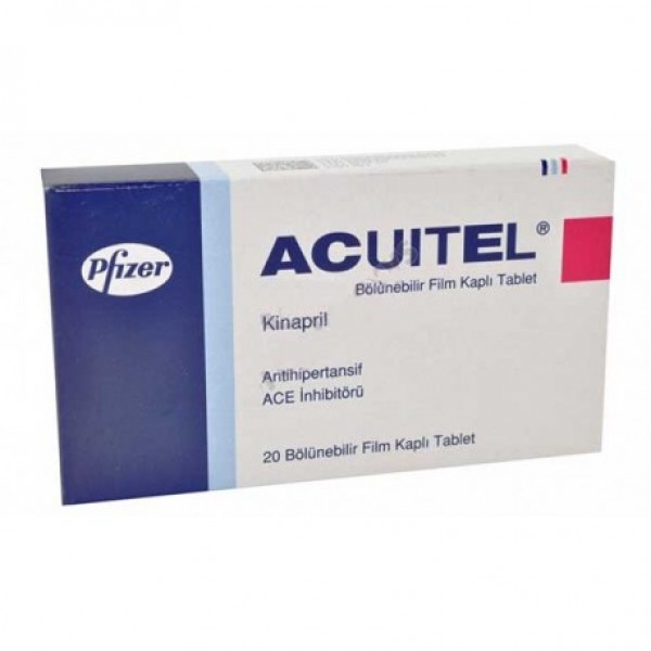 Accupril 10mg Tablets (Generic equivalent)