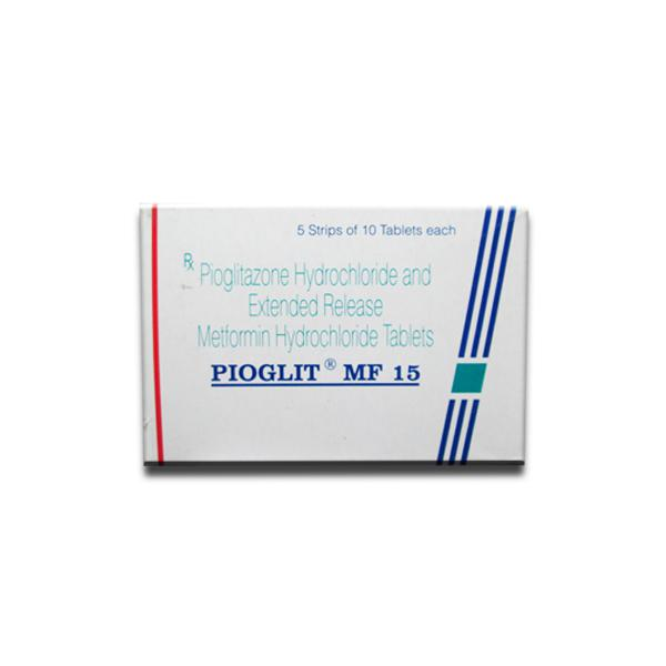 Actoplus Met 15mg/500mg Tablets (Generic Equivalent)