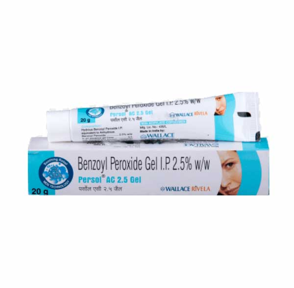 Benzagel 2.5 Percent (30 gm) Tube ( Generic Equivalent )