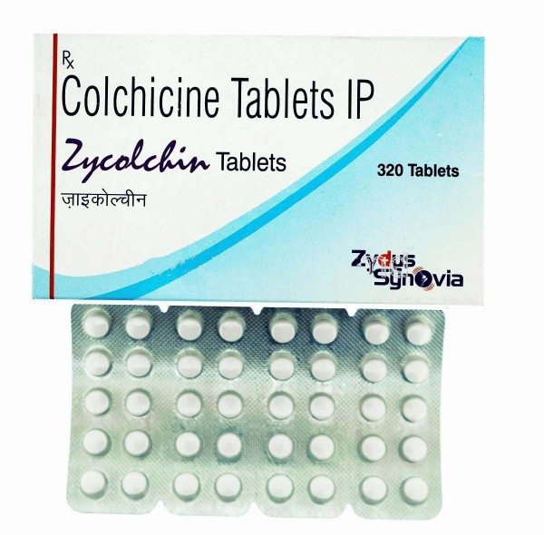 Colchicine 0.5 mg Tablets (Generic Version)