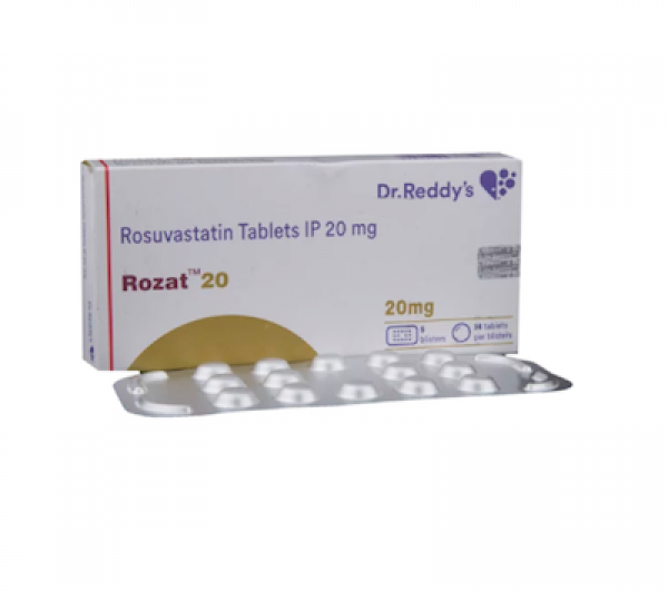 Crestor 20mg Tablets (Generic Equivalent)