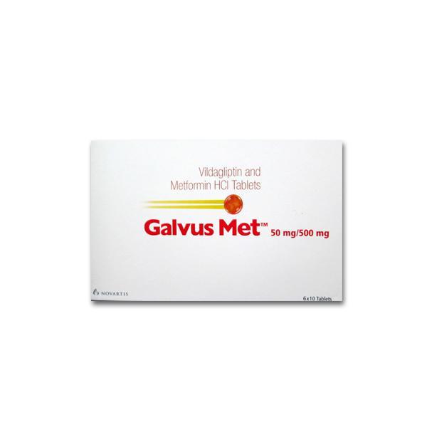 Eucreas 50 mg/500 mg Tablets (Generic Equivalent)