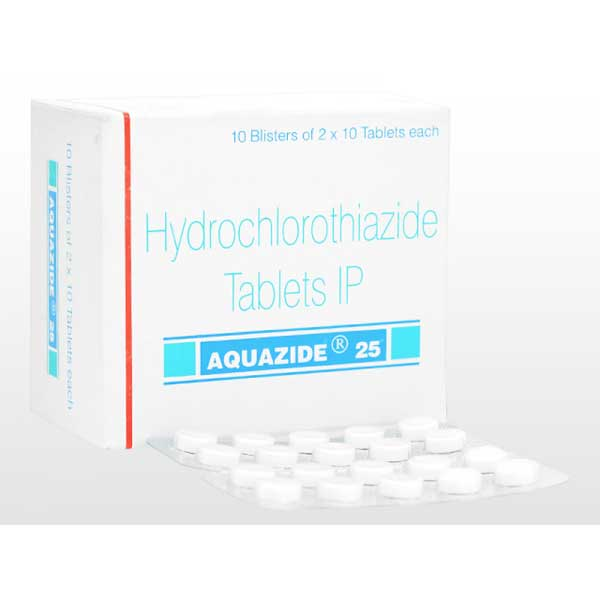 Hydrodiuril 25mg Tablets (Generic Equivalent)