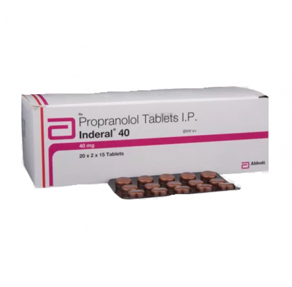 INDERAL 40mg Tablets (Generic Version)