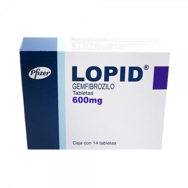 Lopid 600mg  (International Brand Version)