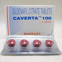 Caverta 100mg Tabs
