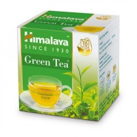 A box of Himalaya Green Tea Classic Sachet