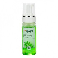 A bottle of Himalaya Purifying Neem Foaming Face Wash 50 ml