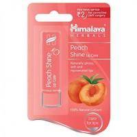 A pack of Himalaya Peach Shine Lip Care 4.5 gm