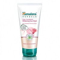 A tube of Himalaya Clear Complexion Whitening Face Wash 50 ml