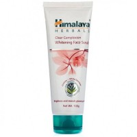 A tube of Himalaya Clear Complexion Whitening Face Scrub 100 gm
