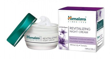 A box of Himalaya Revitalizing Night Cream 50 gm