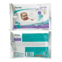 Himalaya Gentle Extra Soft Baby Wipes - Normal skin 12's