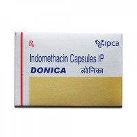 Box of Indocin 25 mg generic Capsule - Indomethacin