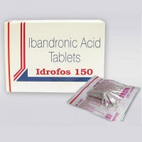 A box pack and a blister of Boniva 150 mg Generic tablets - Ibandronic Acid