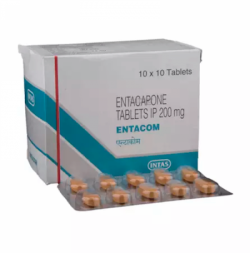 Comtan 200mg Generic tablets