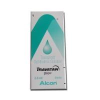 Box of Travatan 0.004 Percent 2.5ml Eye Drops - Travoprost