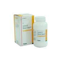 A box and a bottle of Kaletra 200 mg / 50 mg Generic tablets - Lopinavir / Ritonavir