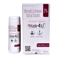 Minoxidil (2 % ) + Aminexil (1.5 % ) 60ml Generic Bottle