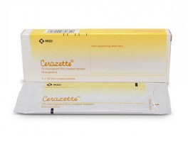 Desogestrel 0.075mg Generic Tablets