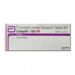 Box of Calan SR 120 mg Generic tablets - Verapamil