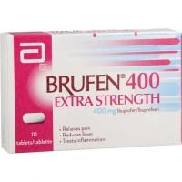 A box of Advil 400 mg Generic tablets - Ibuprofen
