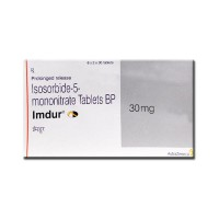 A box of Imdur 30 mg Tablet PR - Isosorbide Mononitrate