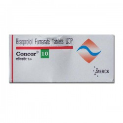 Box of Zebeta 10mg Generic tablets - Bisoprolol