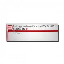Box of Calan SR 240 mg Generic tablets - Verapamil