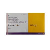 Box of Imdur 60 mg tablets - Isosorbide Mononitrate