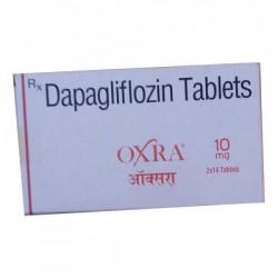 A box of Farxiga 10mg Generic tablets - Dapagliflozin
