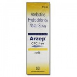 a box of generic Azelastine (0.1%) Nasal Spray