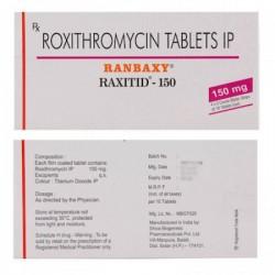 Roxithromycin 150 mg Generic Tablet