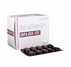 Ofloxacin 200mg + Tinidazole 600mg Generic Tablet
