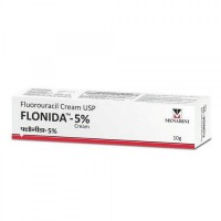A box of generic fluorouracil 5 % Cream of 10gm Tube