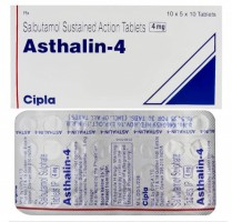 Image of Albuterol 4mg tablet