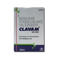 Clavam Dry Syrup 30 ml ( Generic Equivalent )