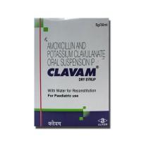 A box unit of generic amoxicillin and  clavulanate potassium