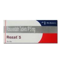 Crestor 5mg Tablets (Generic Equivalent)